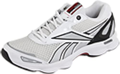 Reebok RunTone Action Running Shoes - Man - black pure White Size  9 ... e26b0979c