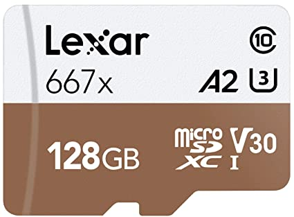 Lexar Professional 667x - Tarjeta microSDXC UHS-I/U3 (64 GB) 128 ...