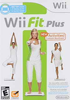 Amazon.com: Wii Fit Plus with Balance Board: Video Games