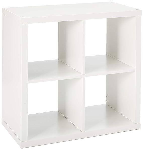 Amazon.com: Mueble Kallax de IKEA, Madera, Negro, marrón ...