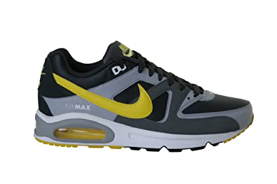 nike air max command noir and yellow