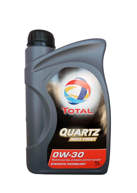 Aceite lubricante coche Total Ineo First 0W-30 1 Ltr (7 L=5 L + 2x1 lt): Amazon.es: Coche y moto