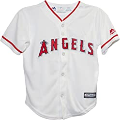 1d4591b8 Majestic Athletic Los Angeles Angels Home Cool Base Toddler Jerseys