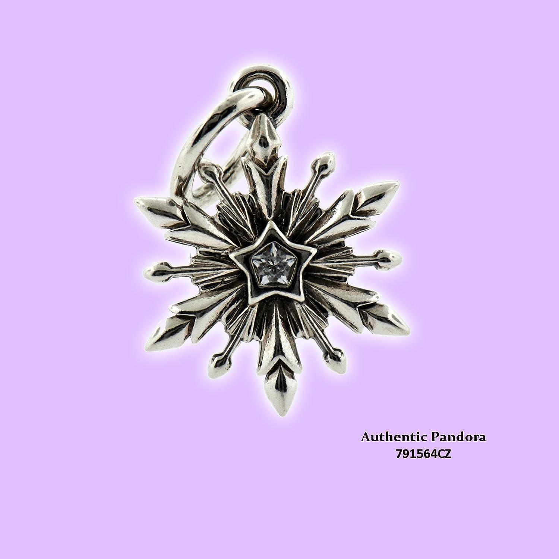 pandora frozen snowflake charm