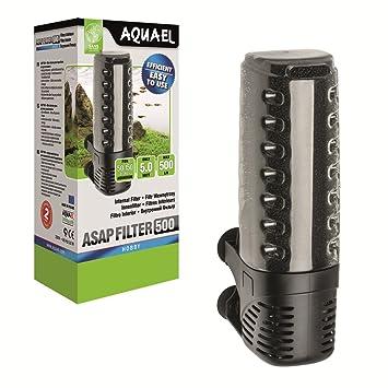 Aquael ASAP 300 Filtro Interior 4,2 W Color Blanco/h para Acuario MAX 100 L tortuguera: Amazon.es: Productos para mascotas