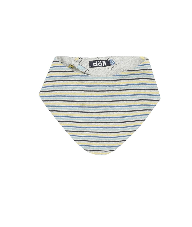 D/öll Unisex Baby Halstuch Dreiecktuch mit Klett zum Wenden Je