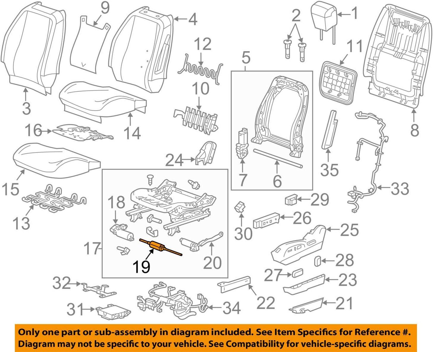 GM 13578630 ACTUATOR ASM-F//SEAT ADJR