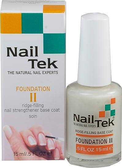 Amazon.com : Nailtek Foundation No.2 Ridge-Filling Nail Strengthener ...