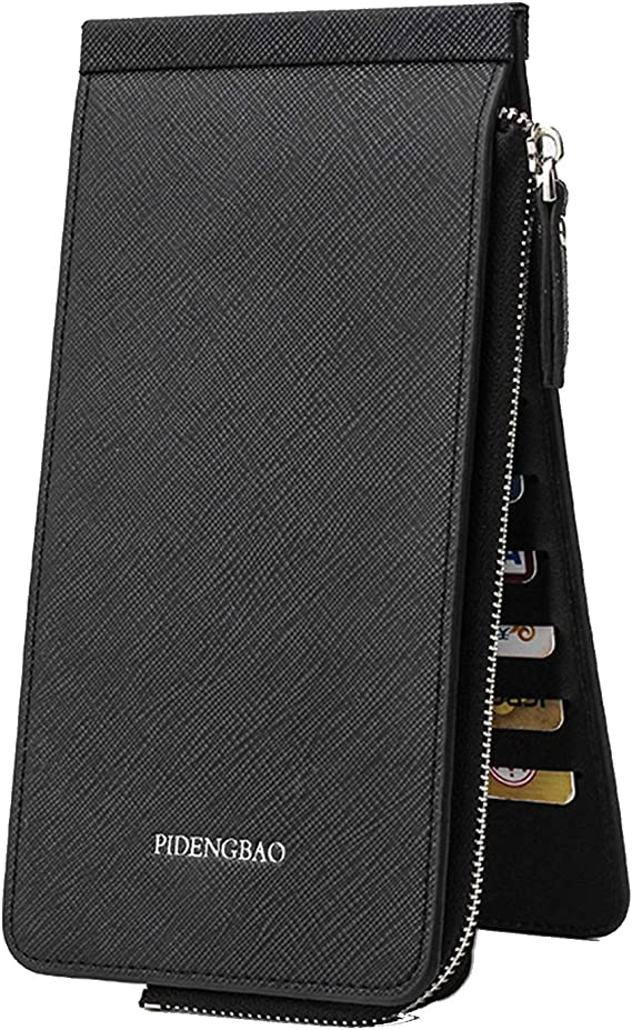 Legros8 Sports Thick Solid Stretchy Credit Cards Keys Wrist Wallets with Zipper Coin Purses /& Pouches
