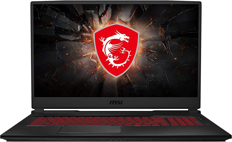 "2020 MSI GL75 17.3"" 144Hz FHD VR Ready Gaming Laptop Computer, 10th Gen Intel Hexa-Core i7-10750H, 32GB DDR4, 1TB PCIe SSD + 1TB HDD, NVIDIA GeForce GTX 1660 Ti, Windows 10, BROAGE 64GB Flash Drive"