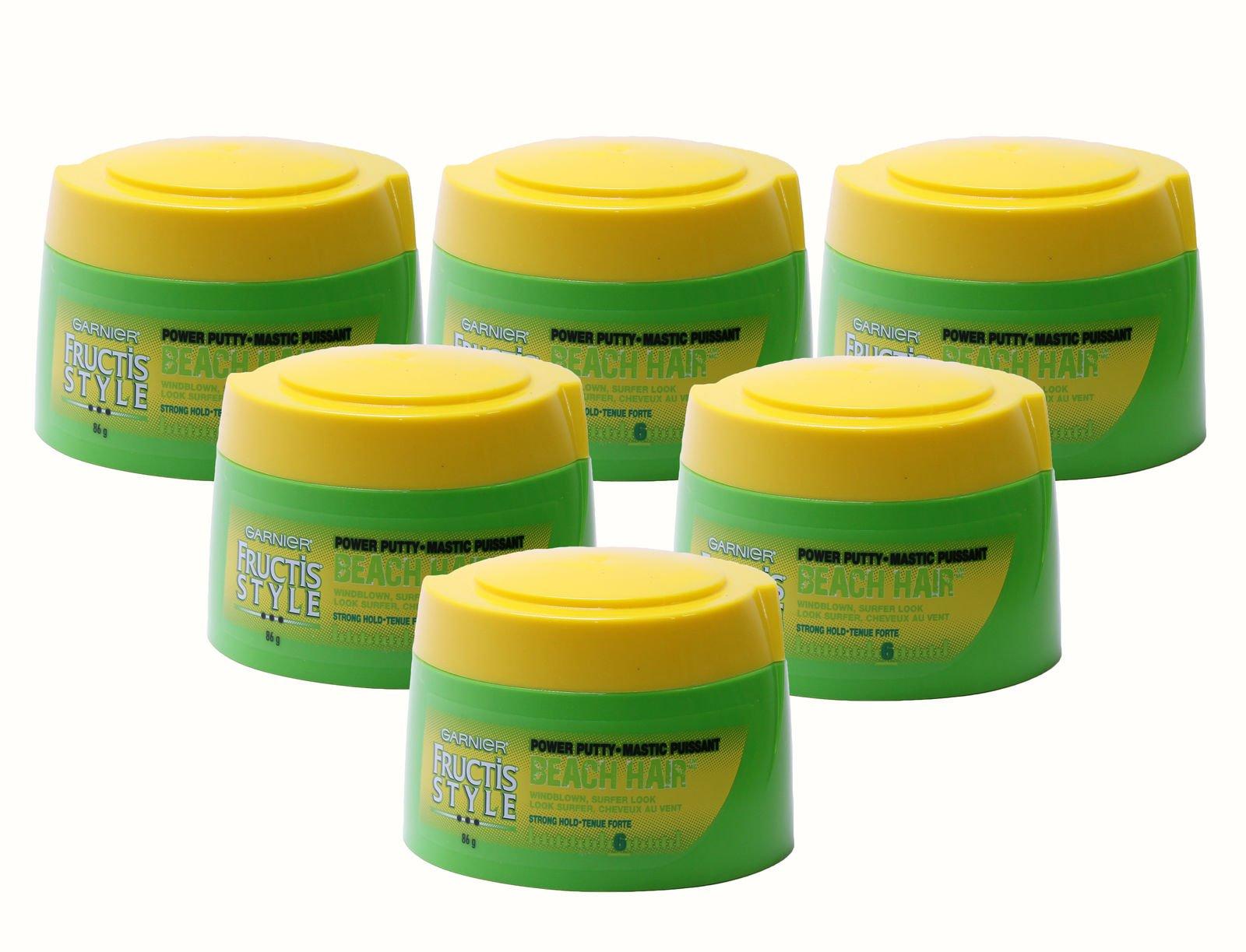 Garnier Fructis Style Beach Hair Power Putty, 3 Ounce (Pack of 6)