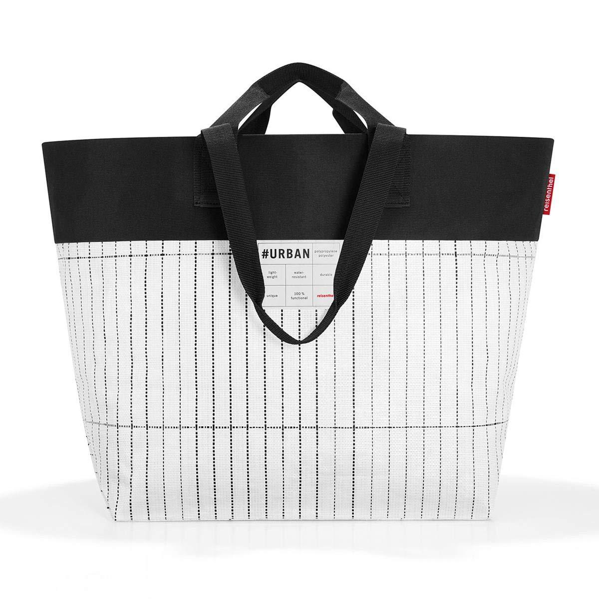 Reisenthel Shopping Urbain Sac Tokyo/Shopper 68 cm 50 liters Multicolore (Black White) PO7049