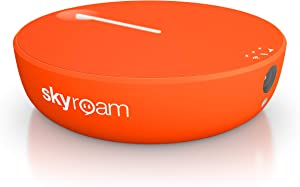 Skyroam Solis X Smartspot | 4G LTE WiFi Mobile Hotspot and Power Bank | Global Coverage | Up to 10 Connected Devices | Built in VPN | Remote Camera | vSIM Technology, No SIM Card Needed | Make a WLAN