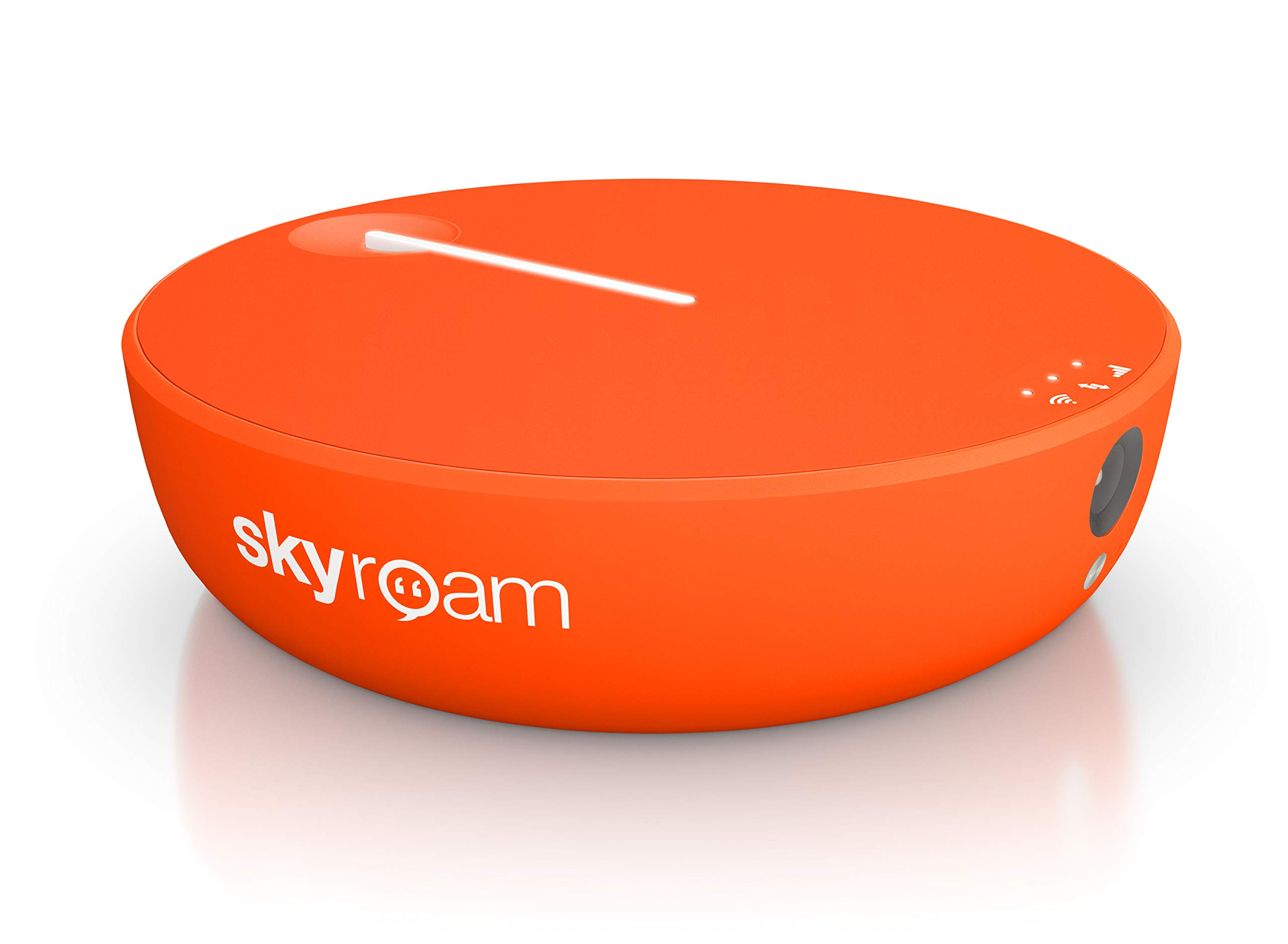 Skyroam Solis X: WiFi Smartspot | Mobile Hotspot | Power Bank | Global SIM-Free 4G LTE | Remote Camera by Skyroam