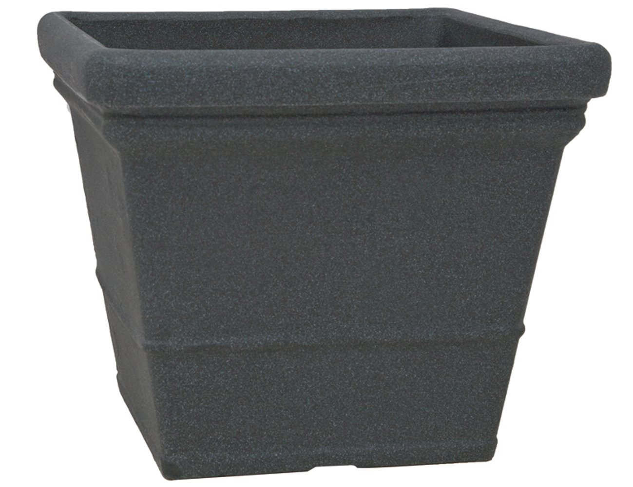 PP-Plastic 62-60-10 Gef/ä/ß Lisa 60 x 60 x 50,5 cm schwarz//granit