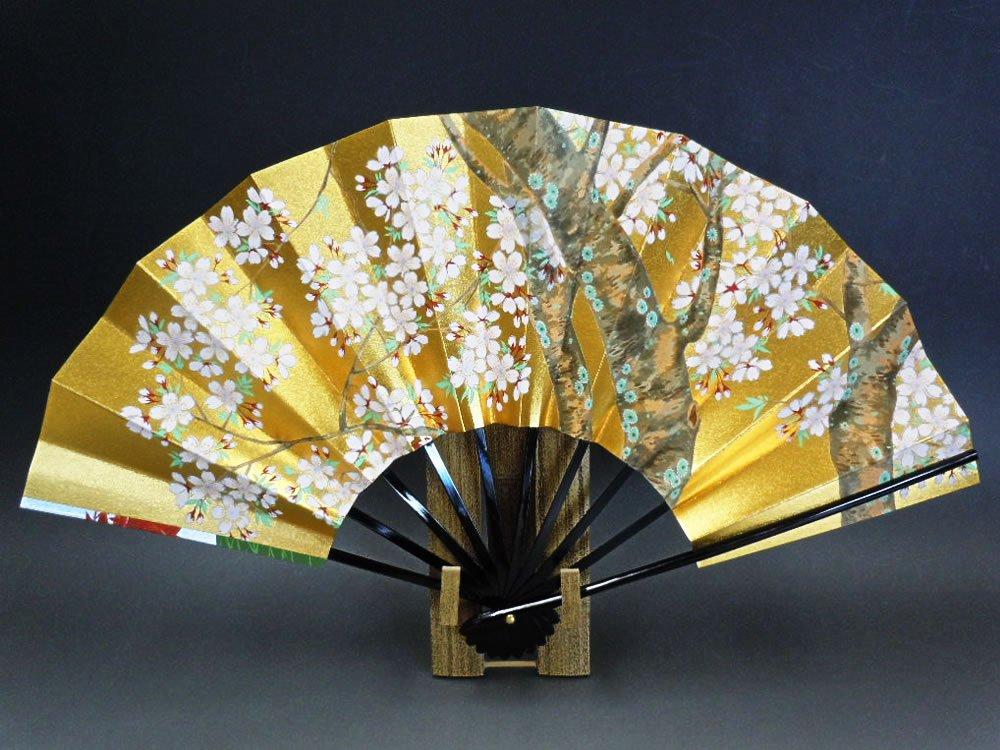飾り扇子 京扇子 「桜と紅葉」 B00B1KU4Y0