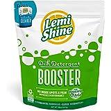 Lemi Shine Booster Dishwasher Detergent Additive Plus Dishwasher Cleaner, 38oz, Eliminates Tough Hard Water Stains on…