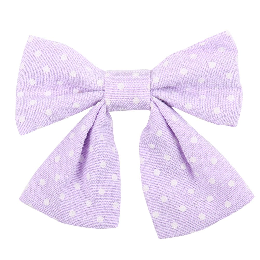 Oaoleer 10pcs 3.5'' Fabric Ribbon Hair Bows with Clips for Baby Toddler Girls Teens by Oaoleer (Image #8)