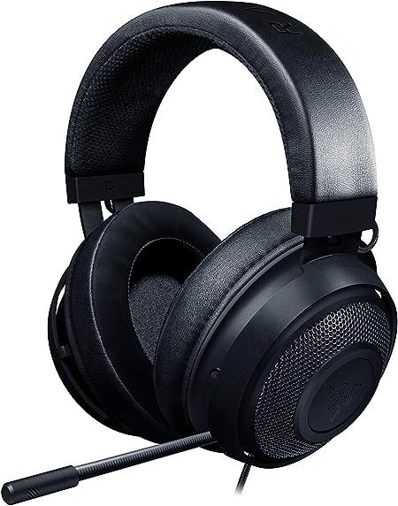 Oferta amazon: Razer Kraken Auriculares Gaming con cable para juegos multiplataforma para PC, PS4, Xbox One & Switch, Diafragma 50 mm, Cable de 3.5mm con controles de línea, Negro