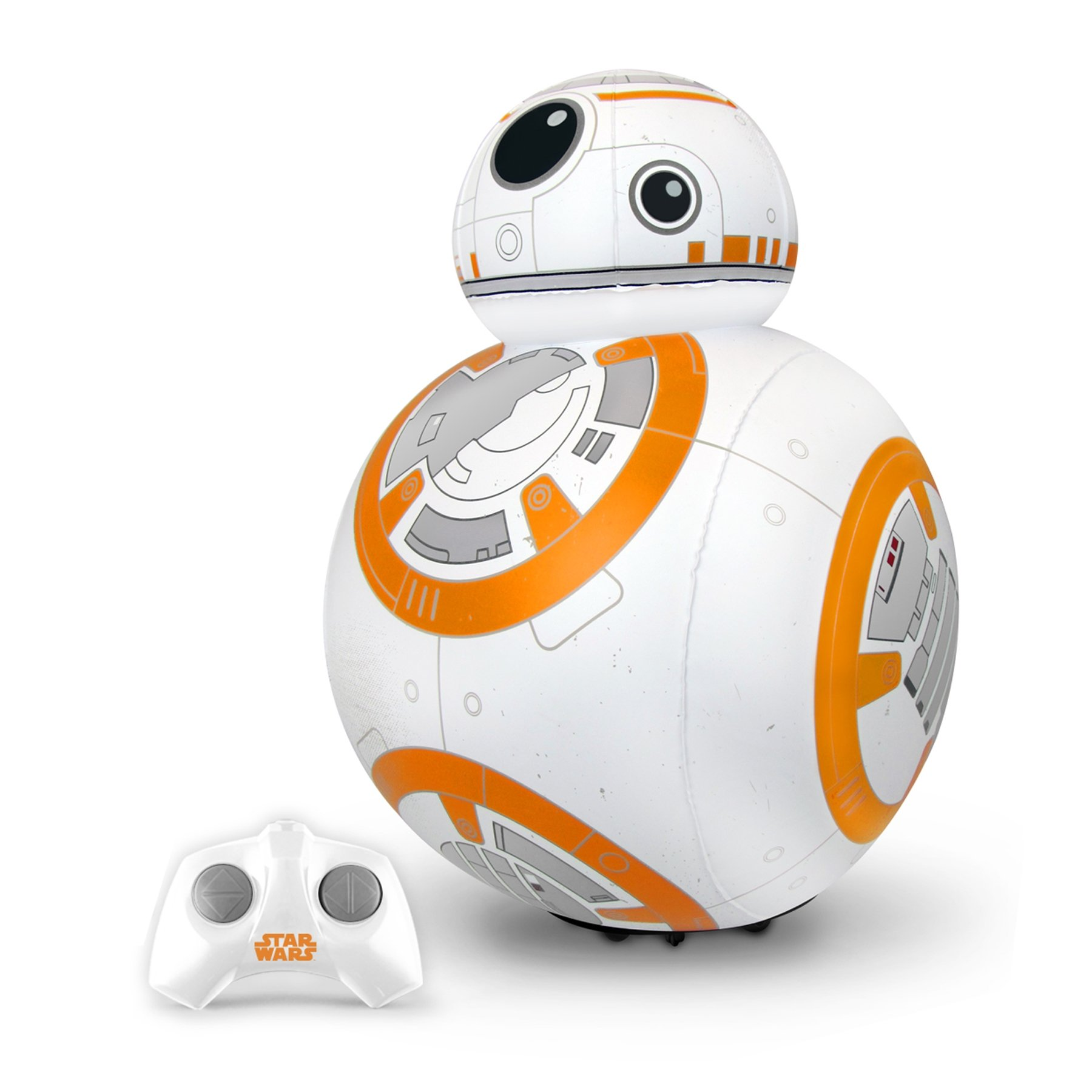 Juguetronica Bladez Inflatable Star Wars Droid BB-8聽RC with Sound Mini Size (47聽cm)