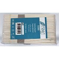 100pieza Bajalenguas Nitras Medical® de madera para exterior
