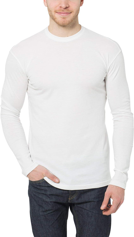 Lower East T-Shirt a Maniche Lunghe Uomo Pacco da 5
