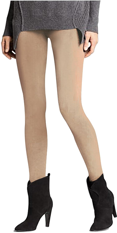 J.Ann Womens Winter Fleece Lined Leggings, Free Size, Beige at ...