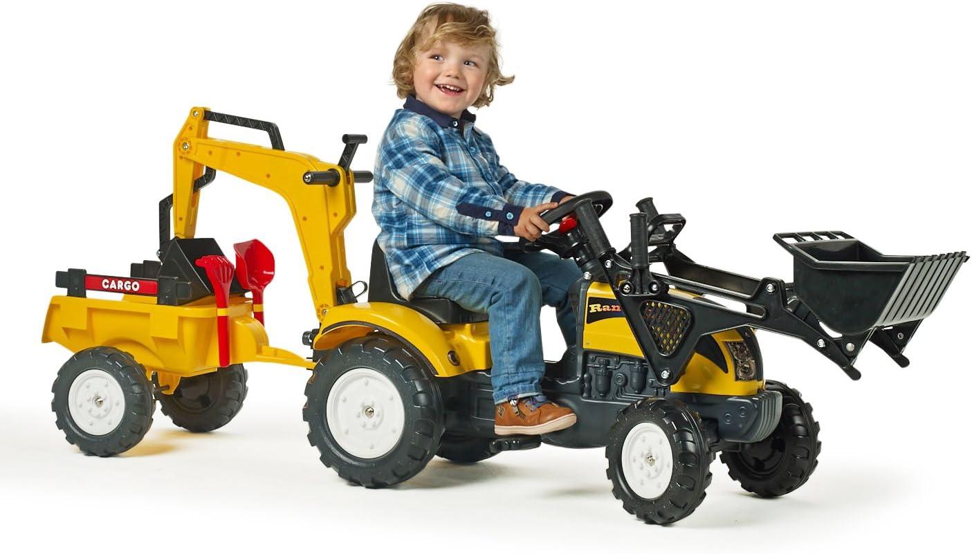Falk Ranch Tractor// Loader// Excavator// Trailer Nad Shovel and Rake