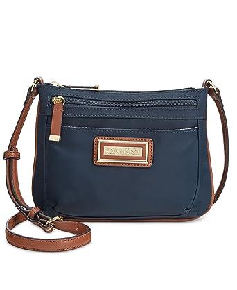 822aceb17cc Calvin Klein Nylon Crossbody, Navy: Handbags: Amazon.com