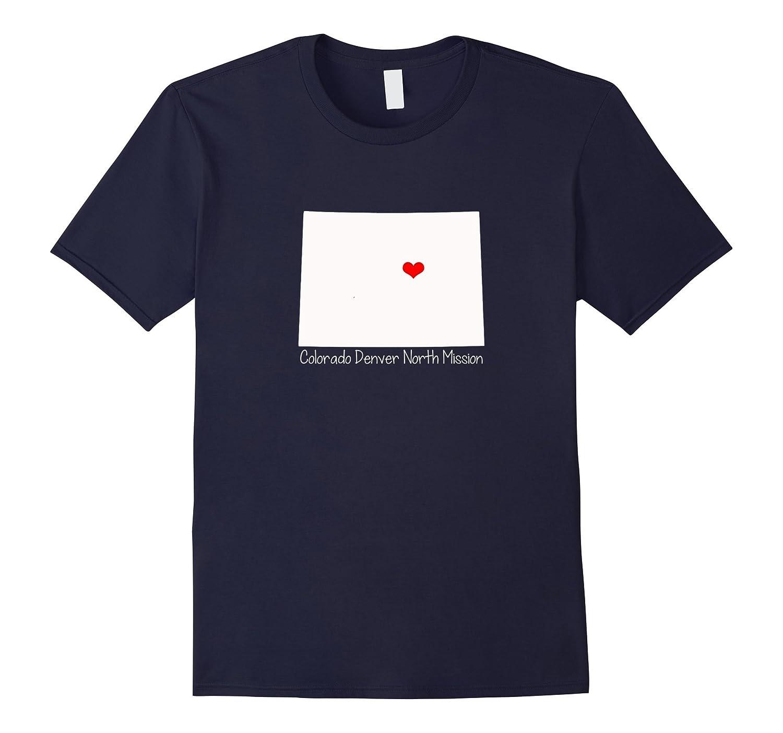 Colorado Denver North Mission Sister Missionary Cute T-shirt-Vaci