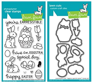Image result for lawn fawn eggstra special easter