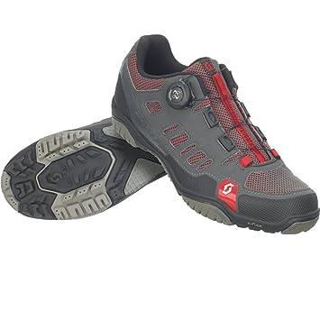 Zapatillas MTB Scott Crus-R Boa Antracita-Rojo Talla 45: Amazon.es: Deportes y aire libre