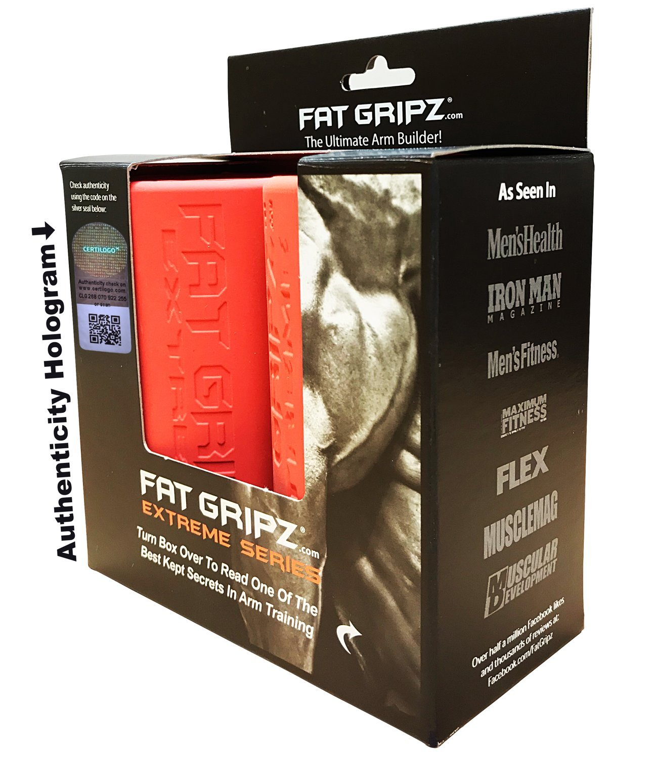"Fat Gripz Extreme (2.75"" Diameter, Most Specialized) by Fat Gripz"