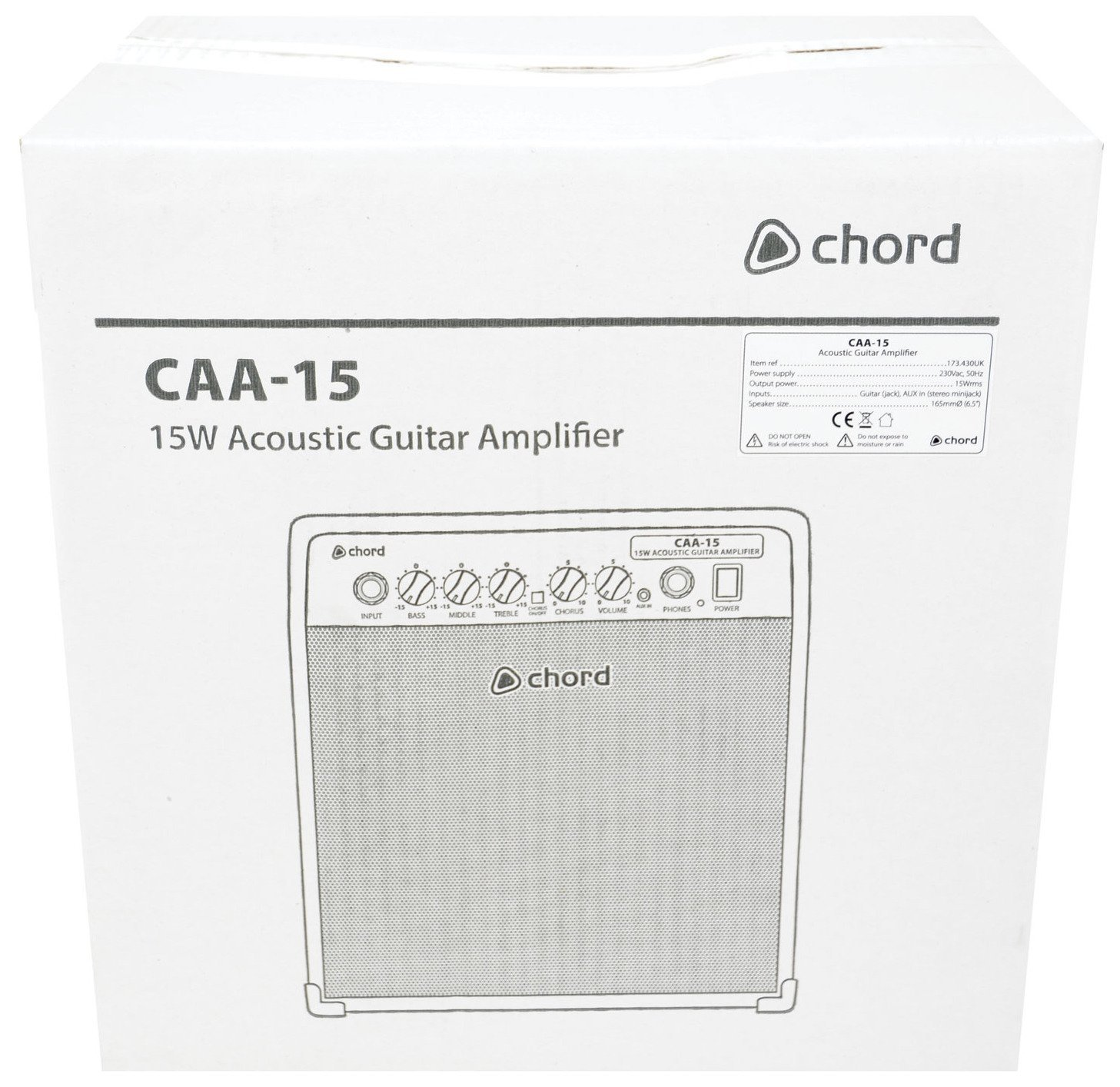 Chord Caa 15 Acoustic Guitar Amplifier Amazon Musical