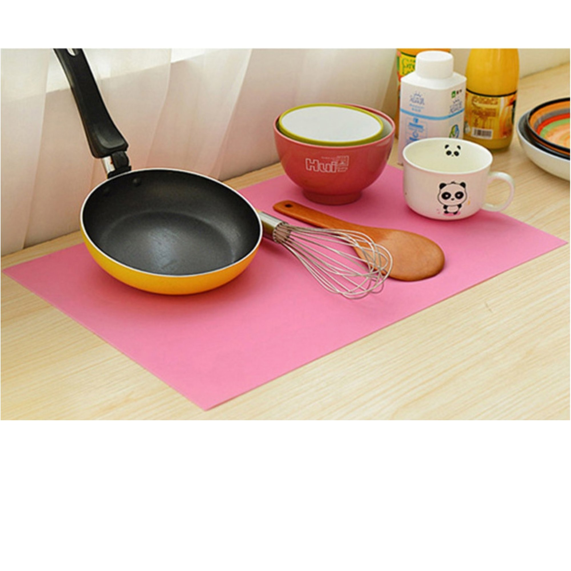 Life and...Extra Large 26'' x 17'' Massive Pastry Fondant Silicone Work Rolling Baking Mat with Measurements
