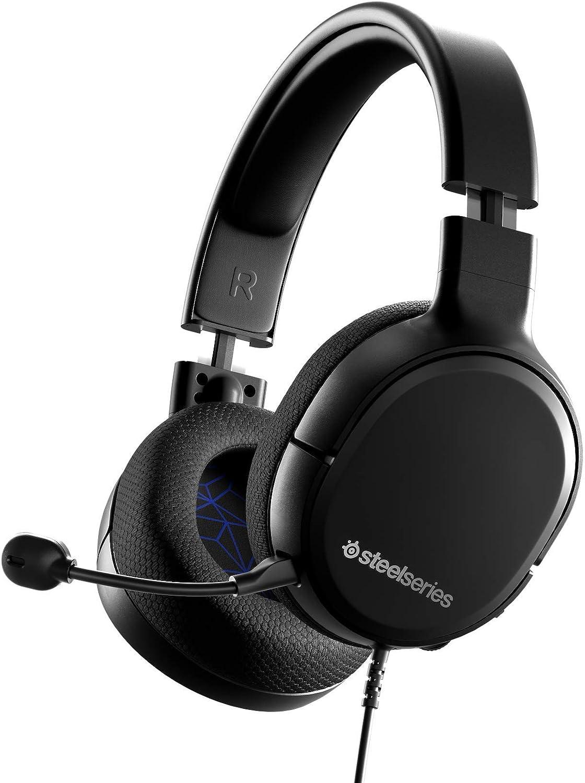 SteelSeries Arctis 1 - Micro ClearCast desmontable, Compatibilidad con todas las plataformas - para PS4 / PC / Xbox / Nintendo Switch & Lite / Móvil (PS4): Amazon.es: Videojuegos
