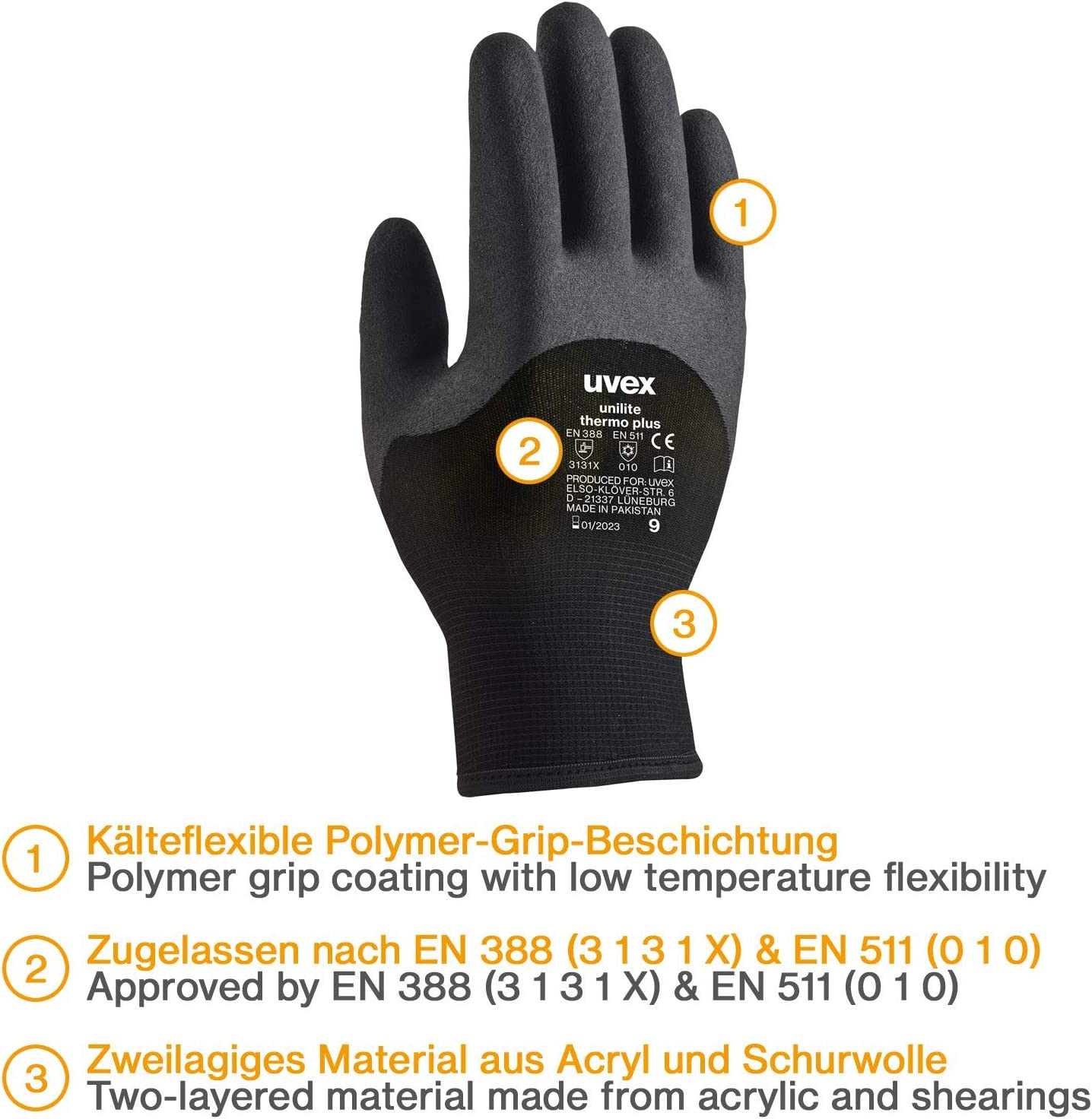6-Teilig Rohrreinigungsschlauch 80 PROFESSIONAL f/ür K/ärcher Kr/änzle Professional HD HDS 63900290 /& 57630400 Anschluss 1//8 AG : M22 x 1,5 IG /& Bajonett-Adapter Messing M22 x 1,5 AG /& EASY!LOCK