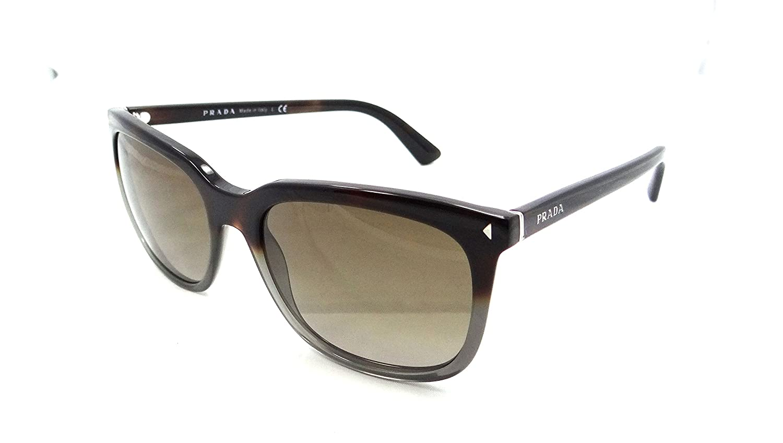 ff3c5388a9 Amazon.com  Prada Sunglasses Spr 12r Tkt-1x1 56x19 Havana Grey   Brown  Gradient Lens  Clothing