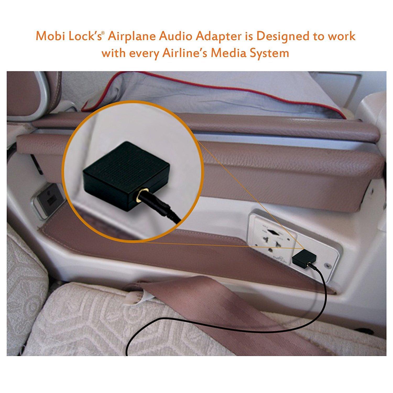 Dieser Flugzeug-Headsetkonverter Erm/öglicht hervorragenden Klang auf Flugzeugen | Erm/öglicht es Ihnen Ihre Kopfh/örer mit Allen mediensystemen zu verwenden 2 St/ück Vergoldete Flugkopfh/öreradapter