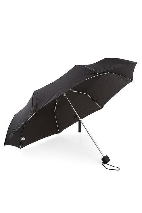 Fulton Minilite - 1 paraguas compacto negro