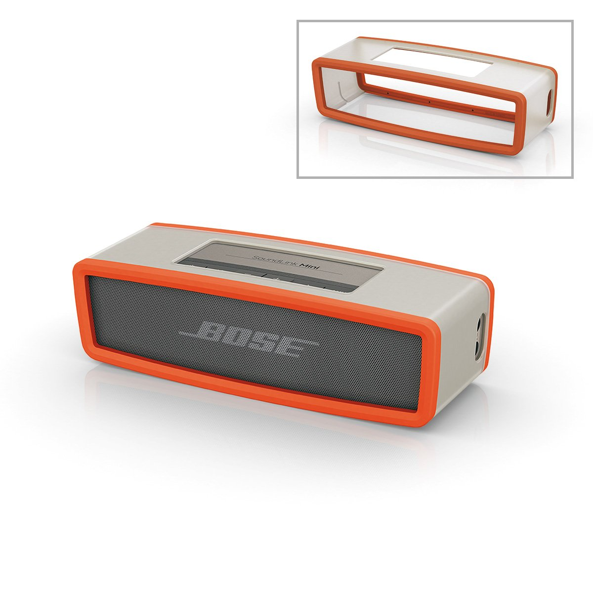 Bose Soft Cover For Soundlink Mini Orange Home Audio Loudspeaker Protection With Start Theater