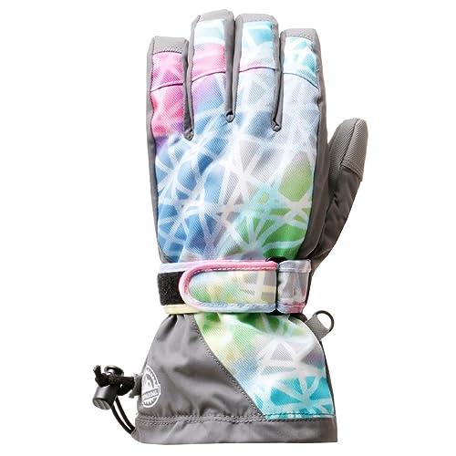 icepardal(アイスパーダル)全19色柄レディーススノーボードグローブインナー付きスノーボードウェア生地使用IG-81D-55009号サイズ手ぶくろ手袋てぶくろスノーグローブスノボスノボーグローブスキー
