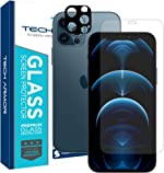 Tech Armor HD Clear Camera Lens Protector and Ballistic Glass Screen