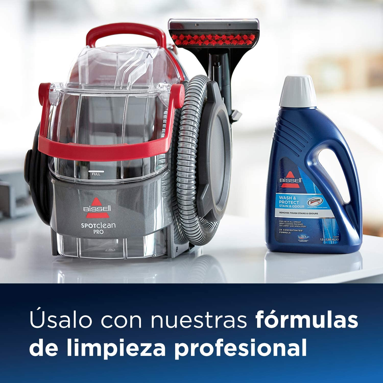Bissell 1558N Limpiador a Mano para Manchas y alfombras Bissell 2369 Accesorio 3-En-1 para Escaleras Y Tapicer/ías 750 W 6.4 litros