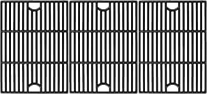 Utheer 17 Inch Cooking Grid Grate for Nexgrill 4 Burner 720-0830H, 5 Burner 720-0888 720-0888N 720-0888S, 720-0697, 720-0783E, Kenmore 720-0670A, Members Mark, Uniflame Grill Replacement Parts, 3 PCS