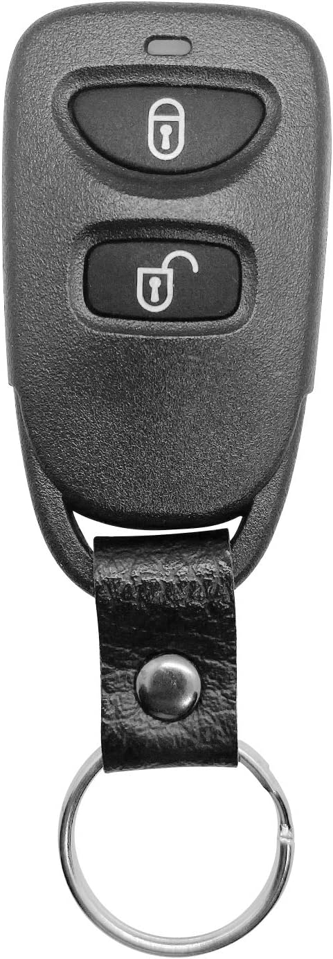 SINGLE PINHA-T038;by AUTO KEY MAX Car Key Fob For 2007 2008 2009 2010 2011 2012 Hyundai Santa Fe Keyless Remote FCCID