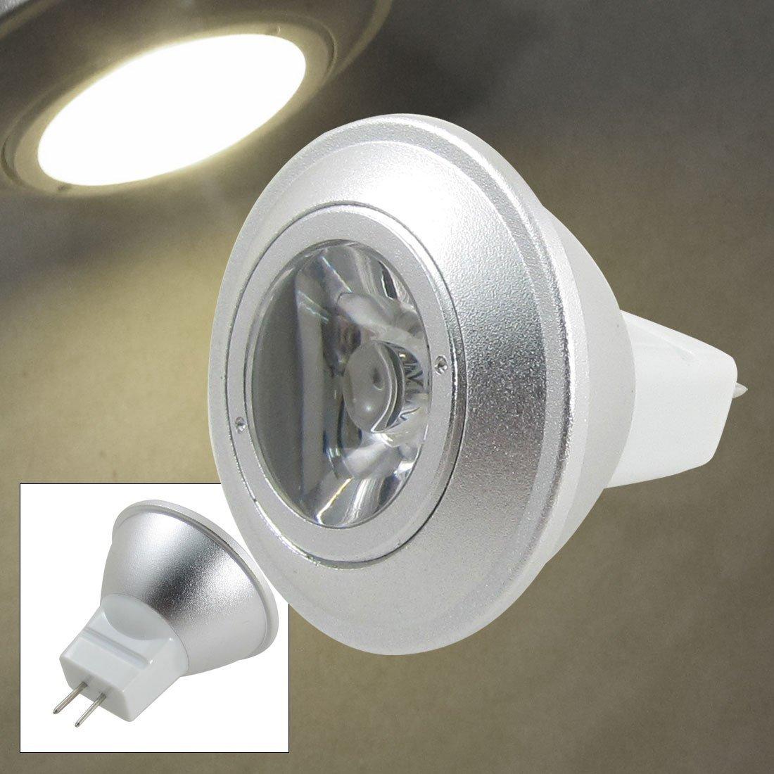 Base de Tornillo MR11 luz blanca cálida 3000K eDealMax 1W llevaron la lámpara - - Amazon.com