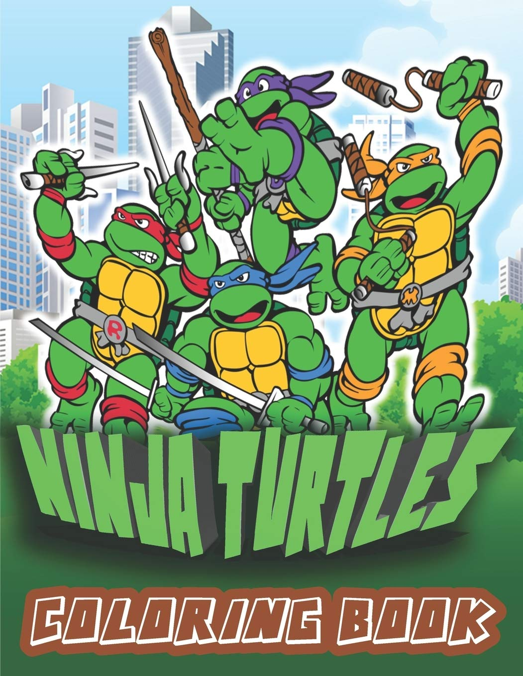 Ninja Turtles Coloring Book Amazing Coloring Pages With Relaxing Ninja Turtles Coloring Book With Beautiful Glossy Cover French Edition Creative Gold Book 9798652088750 Amazon Com Books