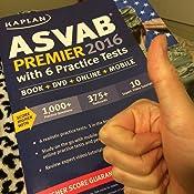 Amazon kaplan asvab premier 2016 with 6 practice tests book customer image fandeluxe Choice Image