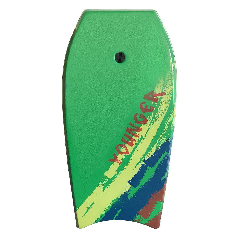 Younger 39インチスーパーBodyboard with Ixpeデッキ、完璧サーフィン  グラスグリーン B01K1QVJ84